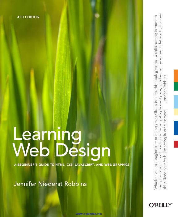 Learning Web Design 4th Edition Matthew Inyere Academia