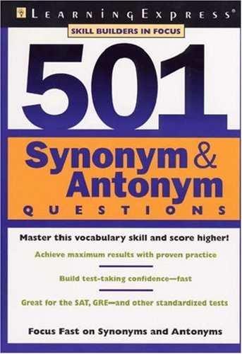 PDF) Synonyms and Antonyms | Duronto Pothik - Academia edu