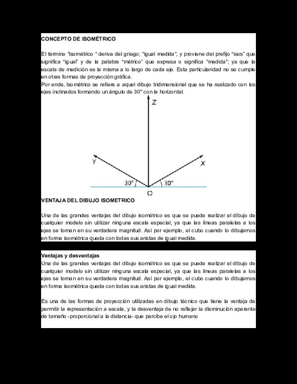 Doc Concepto De Isometrico Mauricio Flo Enri Academia Edu