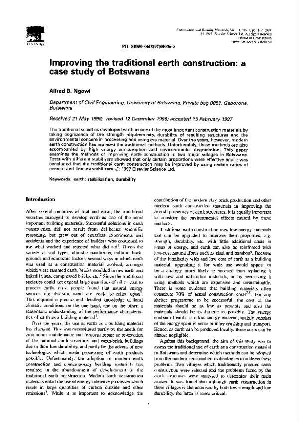 Improving the traditional earth construction  a case study of ... e3e332dc413