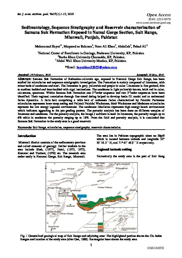 Sedimentology And Stratigraphy Pdf