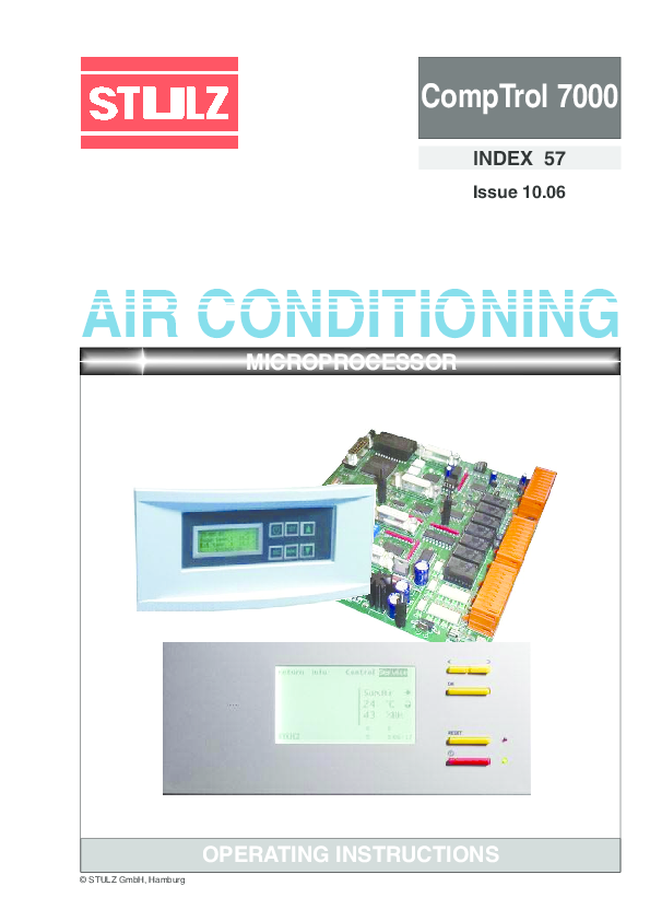 Peachy Pdf Comptrol 7000 Air Conditioning Microprocessor Operating Wiring Digital Resources Funiwoestevosnl