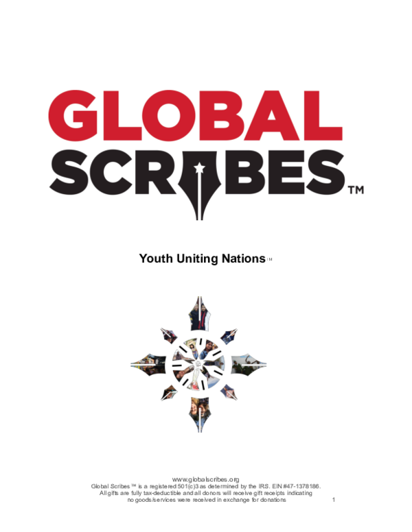 PDF) Global Scribes School Packet lV PDF pdf | Global