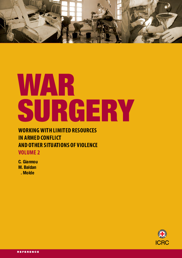 PDF) War Surgery: Working with Limited Resources in Armed