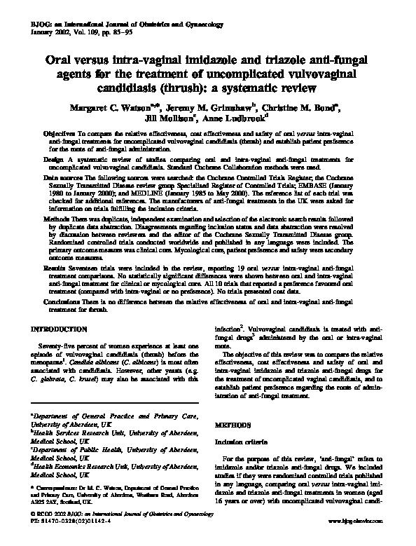 imidazole and triazole antifungals