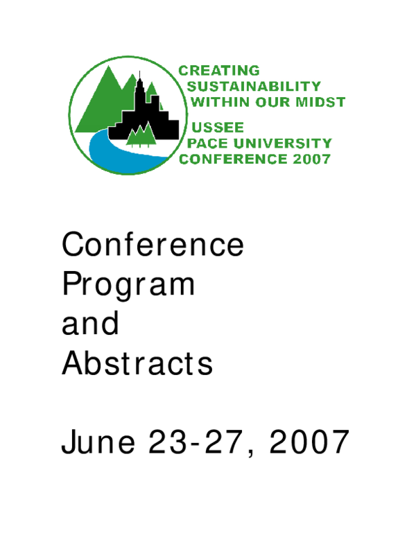 Timeroom Unh Spring 2020.Pdf Usee And Pace University 4th Biennial Conference