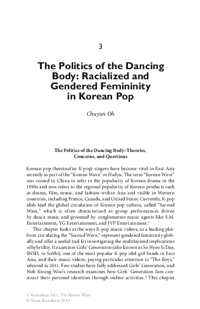 PDF) The Politics of the Dancing Body: Racialized and