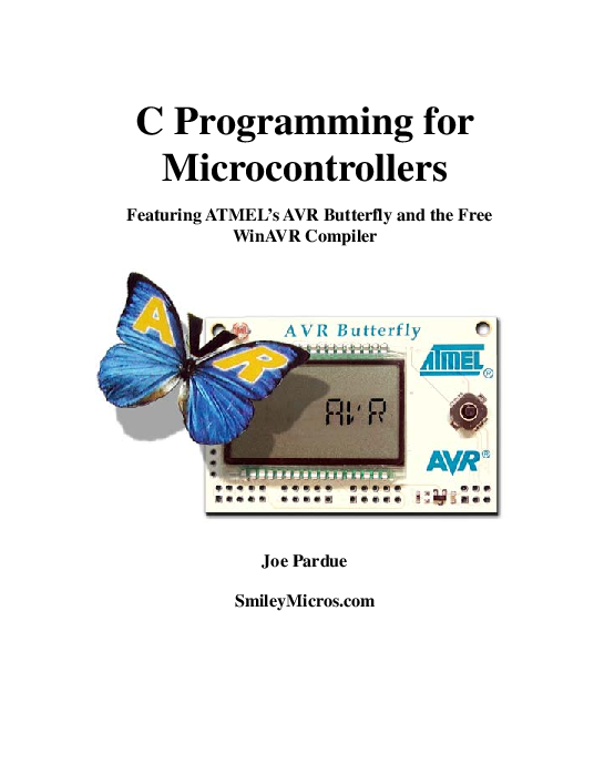 PDF) C Programming for Microcontrollers Featuring ATMEL's