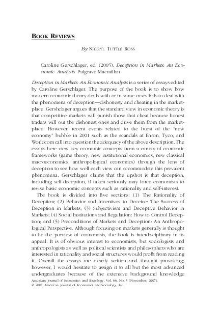 Keynes at Harvard - Economic Deception as a Political