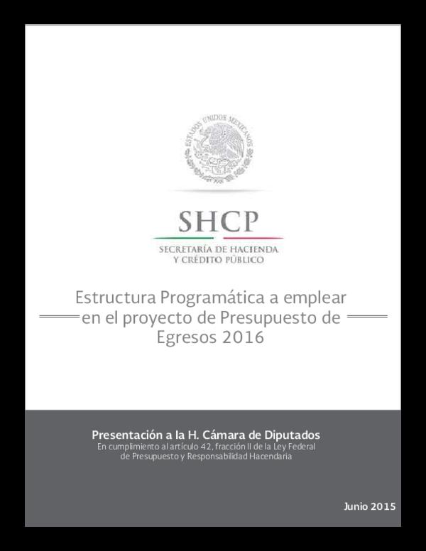 Pdf Estructura Programática A Emplear En El Proyecto De