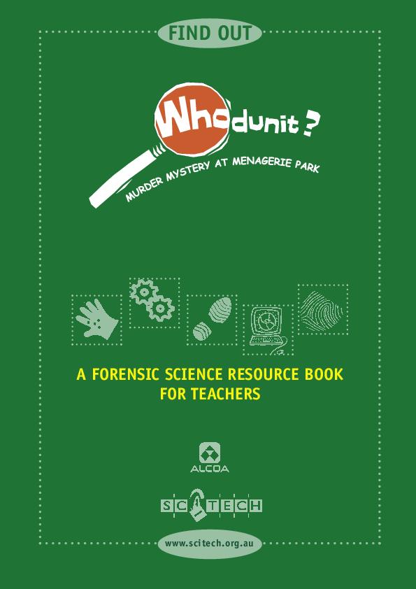 Pdf A Forensic Science Resource Book For Teachers Farawahida Az Academia Edu