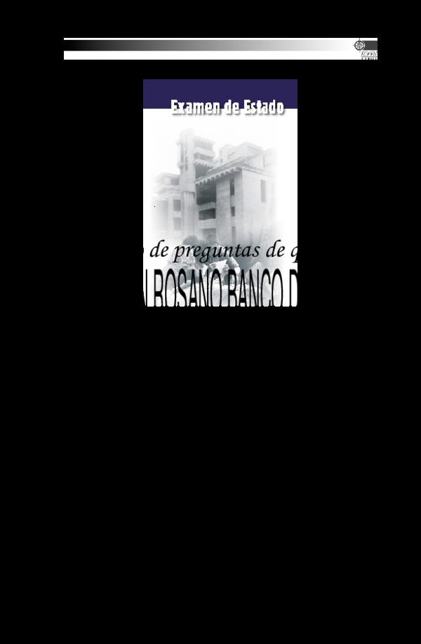Pdf Banco De Preguntas De Química Sandra Quintero