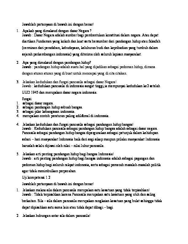 Contoh soal dan jawaban esayd | Winda Agustin - Academia.edu