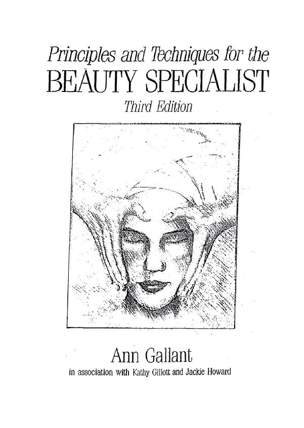 PDF) ANN GALANT CONTENTS beauty specialist | aditya yolla