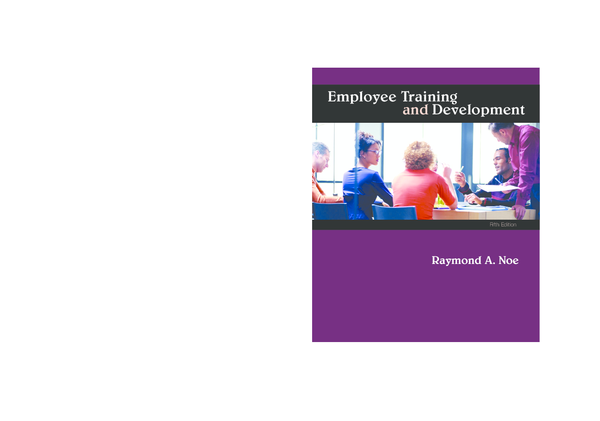 PDF) Employee Training and Development | Nageswara Rao