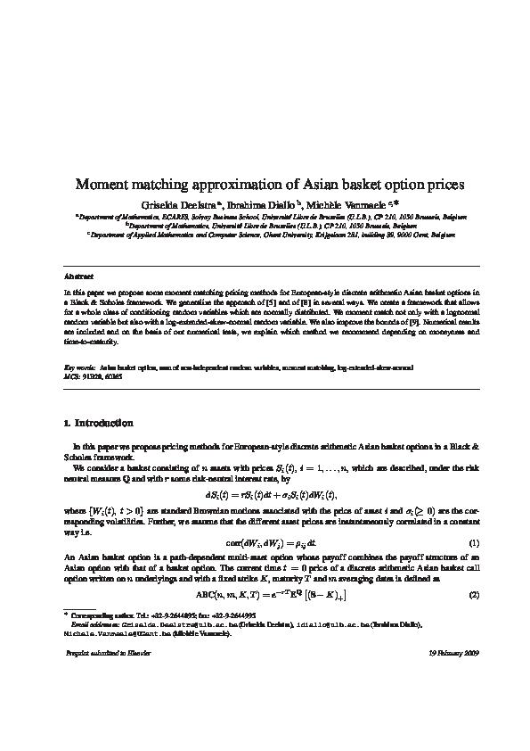 Very asian option pdf