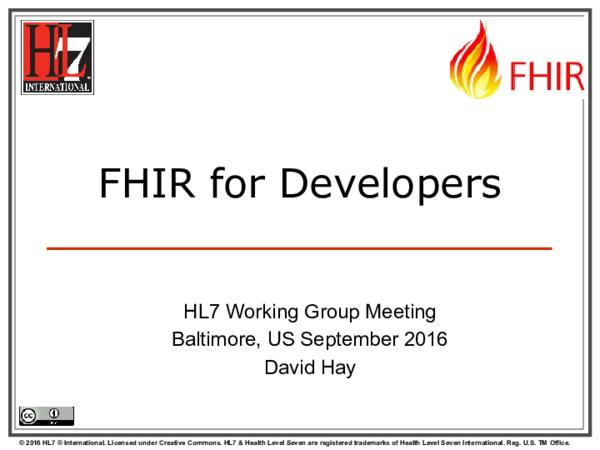 PPT) FHIR for Developers | Dhruvin bhatt - Academia edu