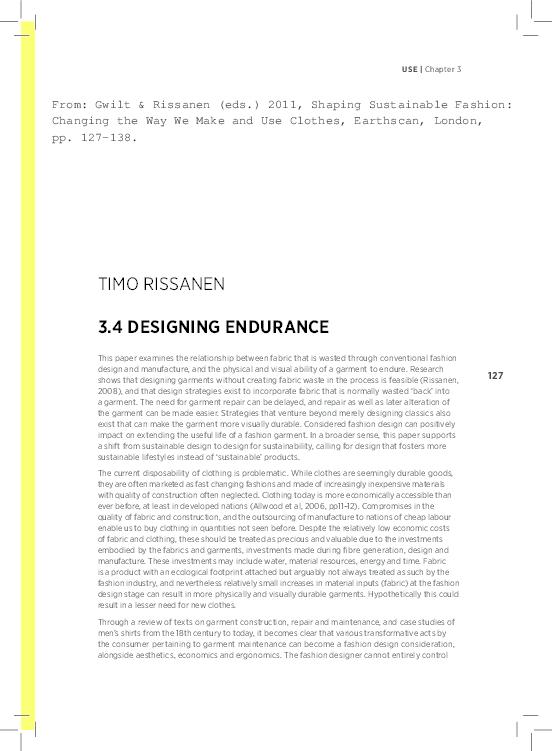 Designing Endurance Timo Rissanen Academia Edu