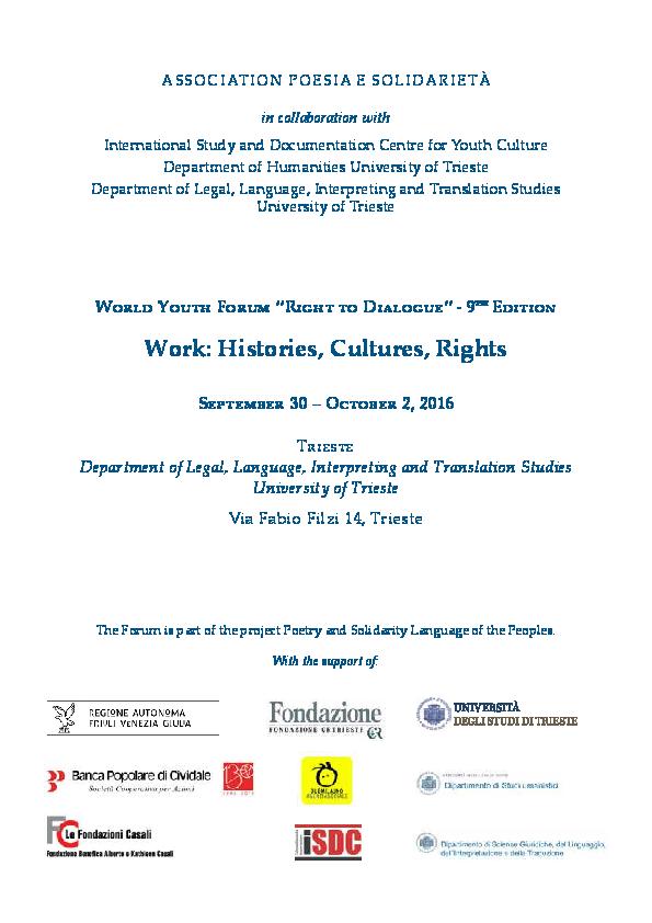 2ec5f8cb0a2 PDF) 9th World Youth Forum
