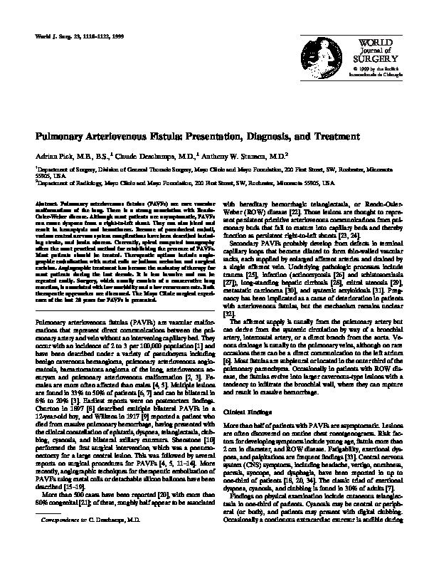 mayo clinic av fistula