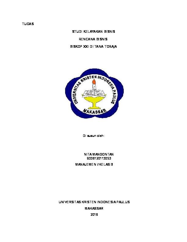 Doc Tugas Final Kewirausahaan Nitha Allorerung Academia Edu