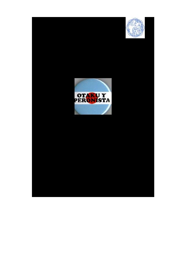Más allá del mundo feliz del fin de semana  Cosplay en Argentina ... 7d3166120c13