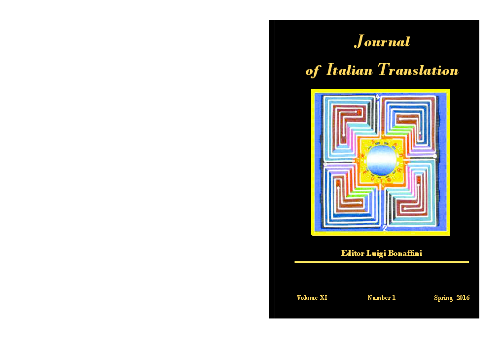 0714891c0d PDF) Journal of Italian Translation