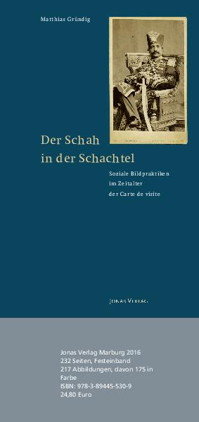 PDF Der Schah In Schachtel Soziale Bildpraktiken Im Zeitalter