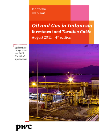 PDF) Oil and Gas in Indonesia Investment and Taxation Guide