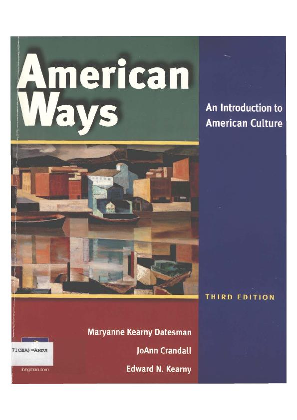 American Ways Third Edition Pdf