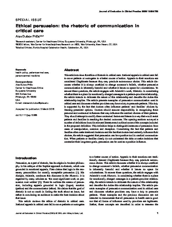 persuasive communication bettinghaus pdf