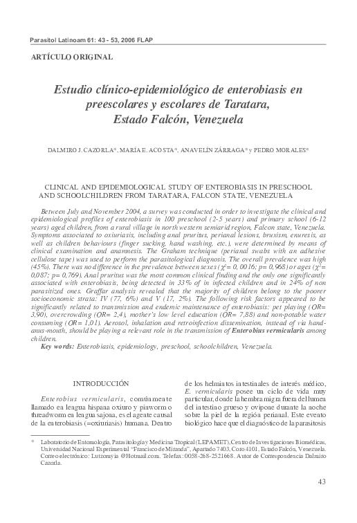 Enterobius vermicularis host. Enterobius vermicularis definitive host