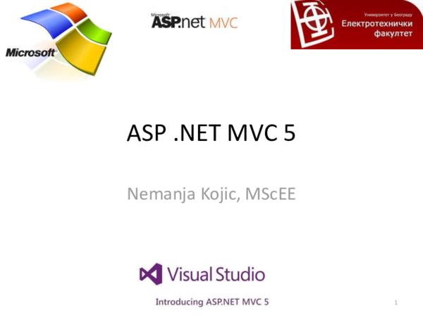 PDF) ASP  NET MVC 5 | Himbher Lazo - Academia edu