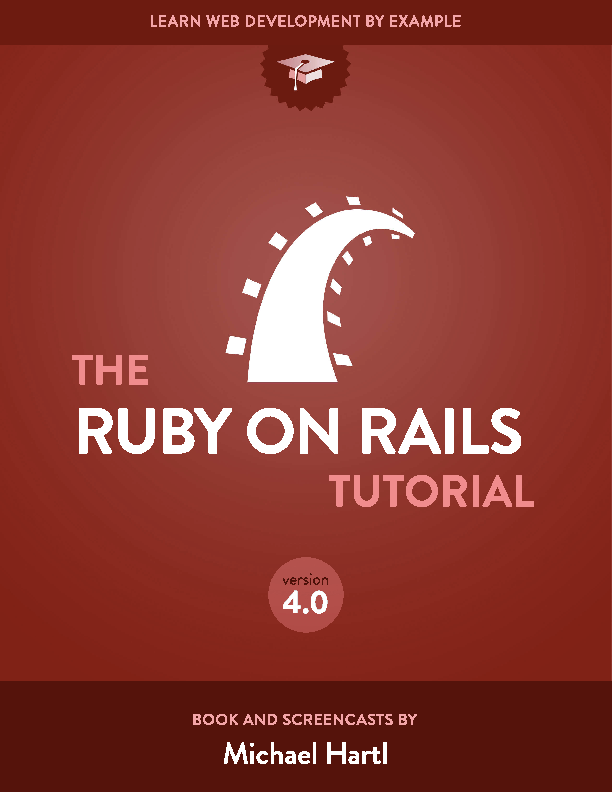 PDF) Ruby on rails tutorial copia | Jose Antonio Menendez