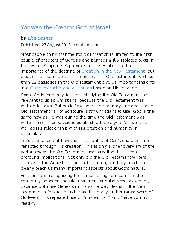 DOC) Jewish gods and yahweh | mike miller - Academia edu