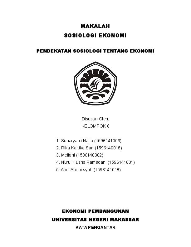 Doc Makalah Sosiologi Nastriawan Nasrien Academia Edu