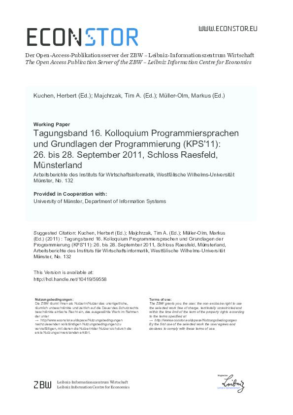 pdf) tagungsband 16 kolloquium programmiersprachen und  der rosenkranz kindern erkl%ef%bf%bdrt #13