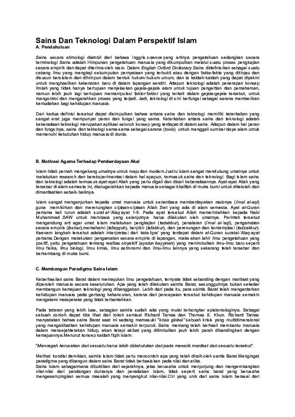 Definisi Sains Dan Teknologi Pdf Free Download