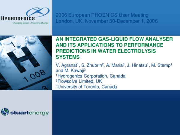 PDF) Gas-Liquid Flow Analyser for Water Electrolysis