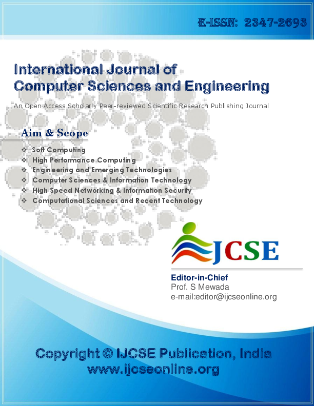 PDF) International Journal of Computer Sciences and Engineering Vol