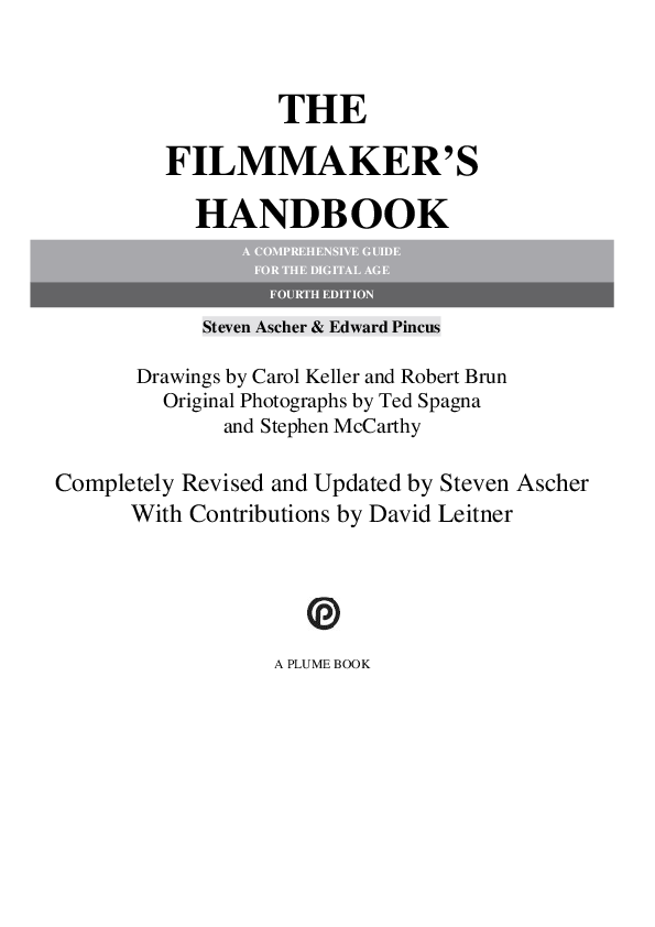 The Dslr Filmmakers Handbook Real-world Production Techniques Pdf