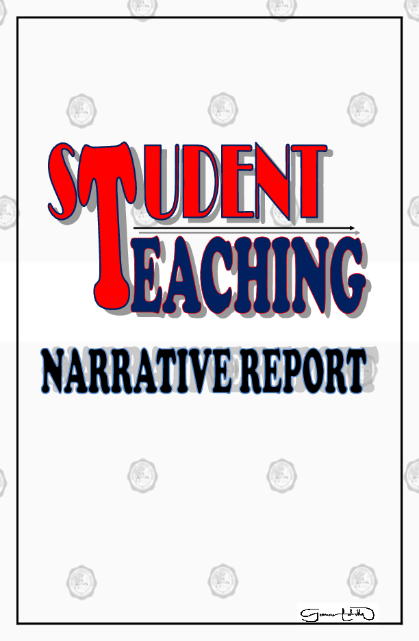 PDF) Student teaching narrative report and documentation