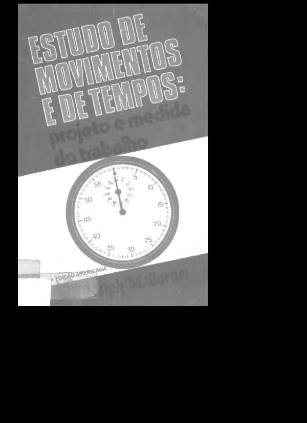 b22bf272203 Estudo de Tempos e Movimentos