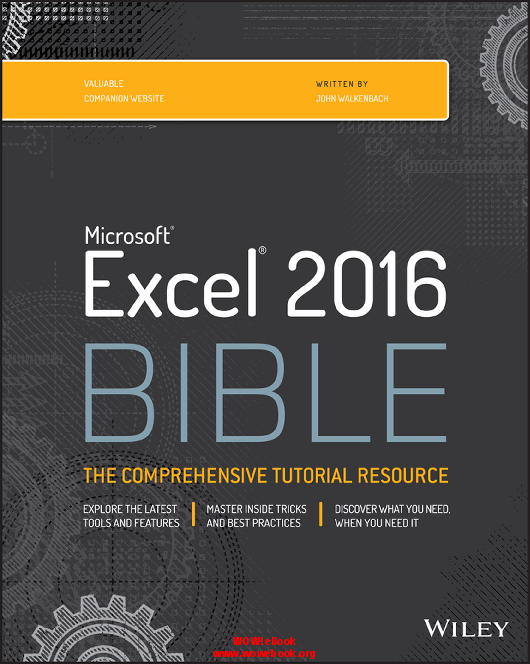 Excel 2007 bible ebook pdf