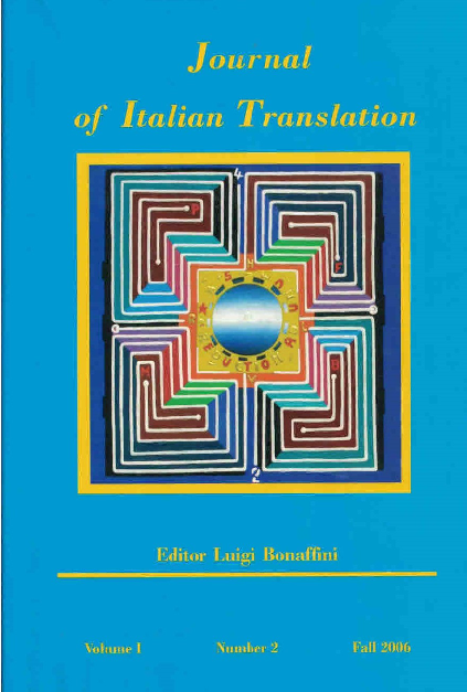 Pdf Journal Of Italian Translation Vol 1 No 2 Fall