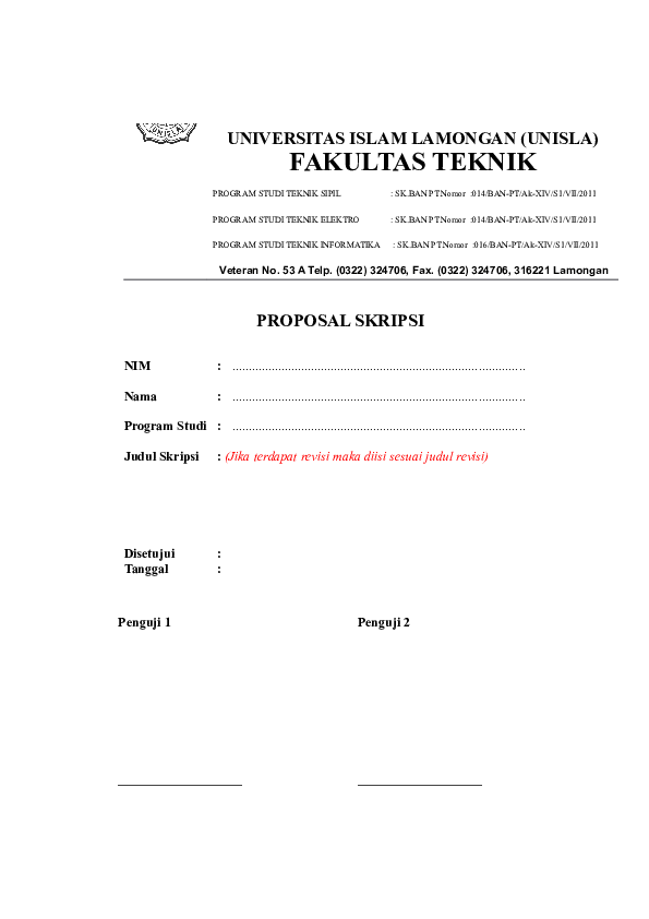 Doc Format Proposal Skripsi Docx Lenovo Junaidi Academia Edu