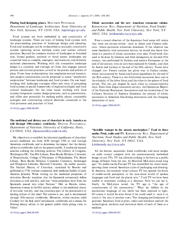 PDF) Ethnic succession and the new