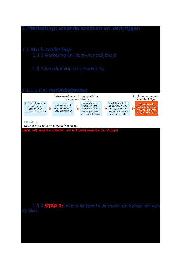05db9a0a91a DOC) Samenvatting Marketing Handelswetenschappen | seppe wens ...
