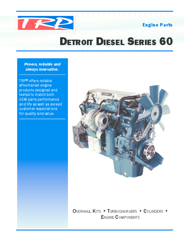 Detroit Diesel Series 60 Oil Cooler Replacement