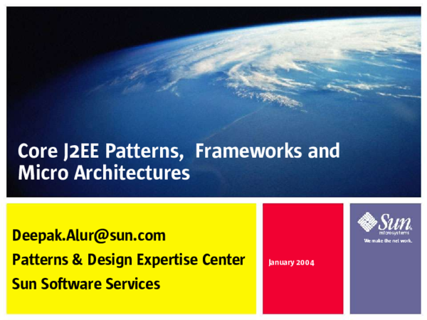 2nd Edition Best Practices and Design Strategies Core J2EE Patterns